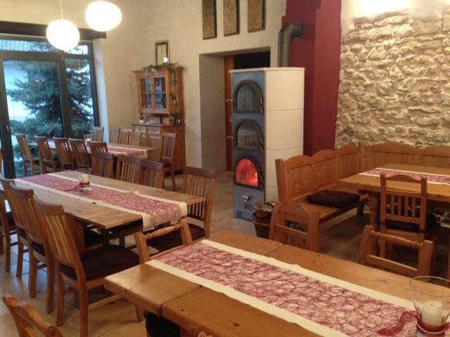 Römerofen, der Grundofen zum Heizen und KochenLaumersheim