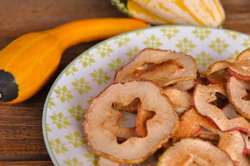 Apfelringe aus dem Römerofen