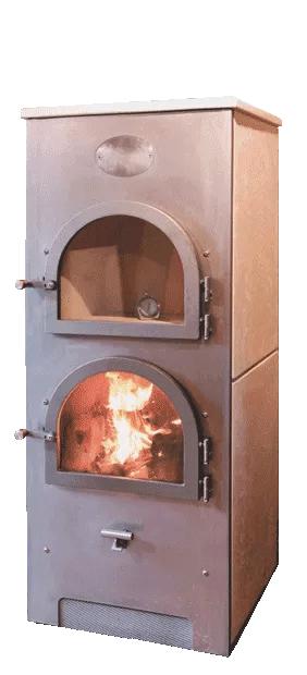 Römerofen Compact, Grundofen zum Heizen und Kochen