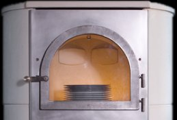 Kochkammer im Römerofen