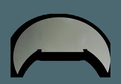 Funkenschutzplatte Römerofen