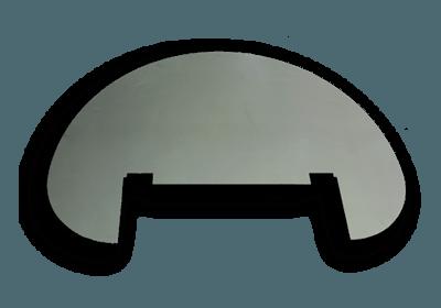 Funkenschutzplatte Compact Römerofen