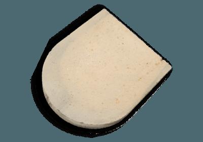 Tuff Backplatte für den Römerofen